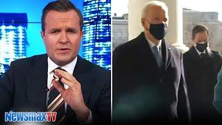Biden's acting weird   Greg Kelly