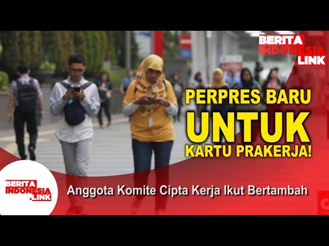 Jokowi Dan Perpres Baru Kartu Prakerja