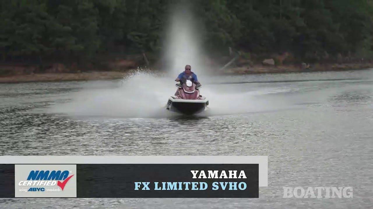 Yamaha FX Limited SVHO PWC Test | Boating Magazine