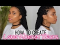 How To Create Long Marley Twist | Collab w. Hair By Mason