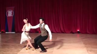 ESDC 2015 - Advanced All Swing Showcase - Finals - Fabien Vrillon & Lisa Clarke