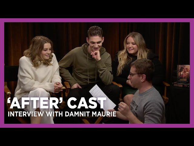 'After' Cast Interview with Damnit Maurie