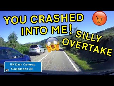 UK Dash Cameras - Compilation 38 - 2019 Bad Drivers, Crashes + Close Calls