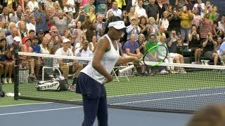 Venus Williams Dances at the Final Day of Greenbrier Champions Tennis Classic