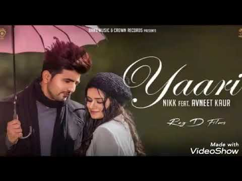 Tu Yaari Ta La Vie Song Lyrics New Panjabi Song Nikk