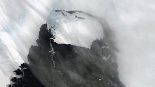 NASA Antarktika'dan kopan dev buzdağını görüntüledi - BBC TÜRKÇE