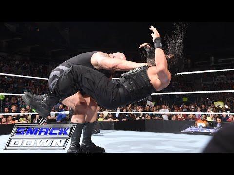 Roman Reigns Vs. Big Show: SmackDown, July 9, 2015