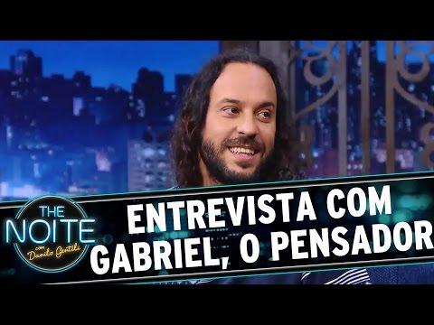 The Noite (16/08/16) - Entrevista com Gabriel, o Pensador