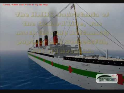 Hospital Ships of WW1 on Virtual Sailor