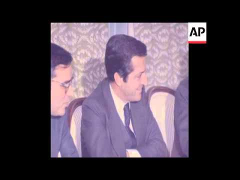 SYND 13/12/80 SPANISH PRIME MINISTER SUAREZ HOLDS MEETINGS IN VITORIA