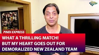 My Heart Goes Out For Demoralized New Zealand Team | India vs New Zealand | 3rd T20I | Shoaib Akhtar