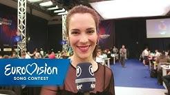 Alina Stiegler berichtet aus dem Pressezentrum | Eurovision Song Contest | NDR