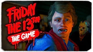 НЕАДЕКВАТНАЯ ПЯТНИЦА 13-ОЕ (FRIDAY 13TH THE GAME) :D