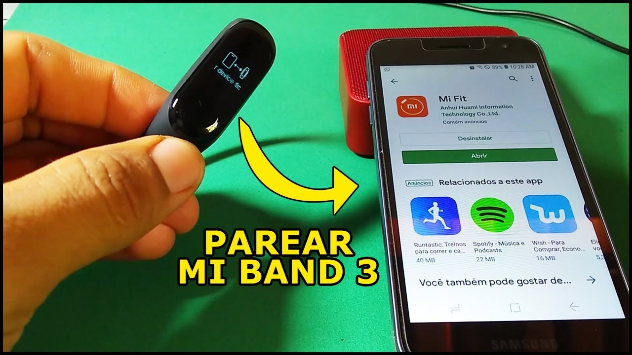 Como Conectar A Xiaomi Mi Band 3 No Celular Descubra Aqui Youtube