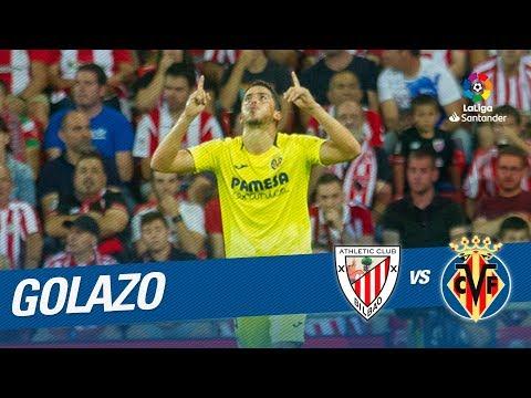 Golazo de Fornals (0-1) Athletic Club vs Villarreal CF