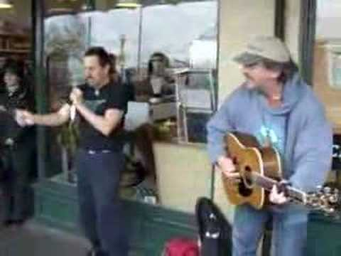 Jim Page and Spoonman Amazing Street Performance