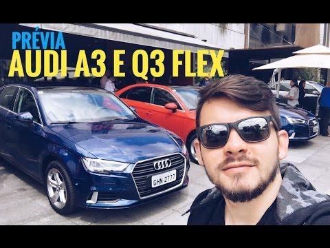 Novos modelos Audi Q3 Flex e A3 de 220 cv - prévia