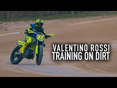 Valentino Rossi: The Why & How of Training on Dirt