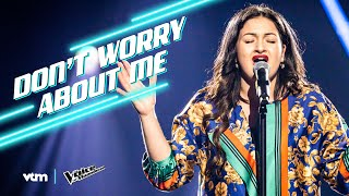 Anna - 'Don't Worry About Me' | The Blind Auditions | The Voice van Vlaanderen | VTM