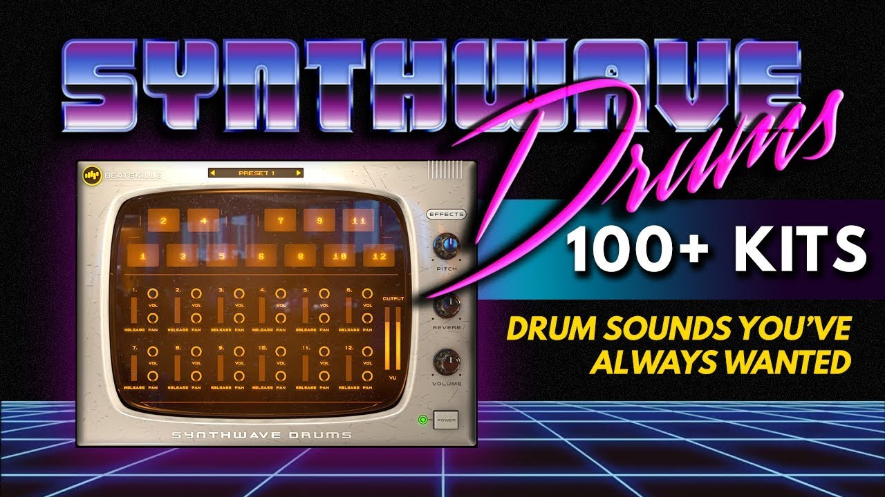 Give Your Tracks A Classic Vibe With Our 80s Drums Rompler