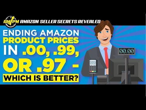 How Significant is Pricing Amazon Products at .00, .99, or .97?