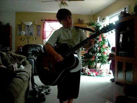 Jeremiah Gilmer plays bluegrass