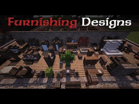 Minecraft Designs: Furniture and Furnishings