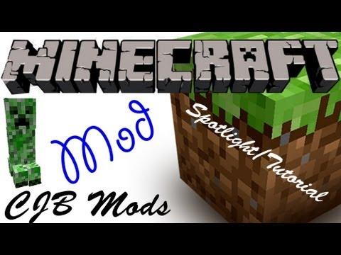 Minecraft мод Cjb Mods