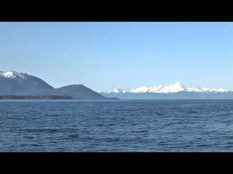 Frederick Sound View of Kuiu, Baranof and Admiralty Islands