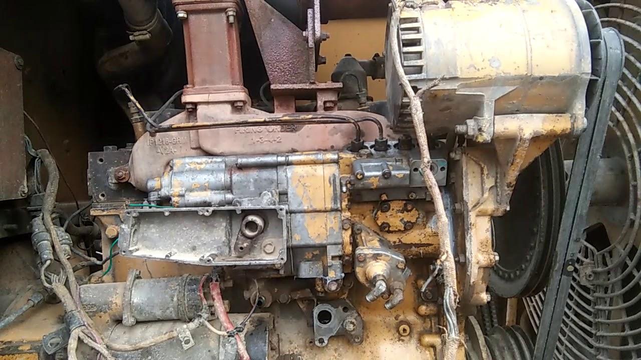 CAT Loaders 950E- Diesel Fuel Injection Pump Service