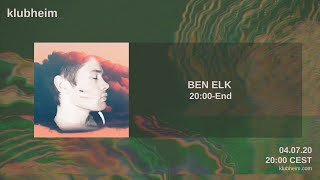 Ben Elk - Klubheim Saturday 04.07.20