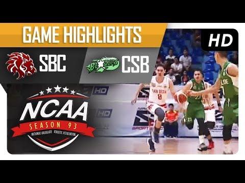SBC vs. CSB | NCAA 93 | MB Game Highlights | September 5, 2017