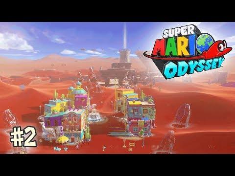 Mario Odyssey # 2 Desert des fous gelés