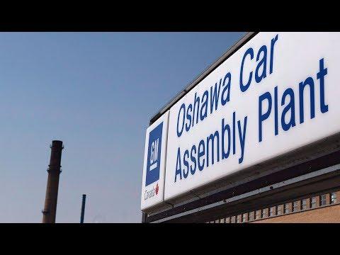 GM Plant In Oshawa Set To Shut Down