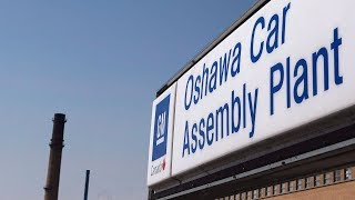 GM plant in Oshawa set to shut down