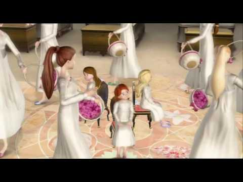 Barbie 12 Dancing Princesses - Birthday Song (EU Portuguese) HD