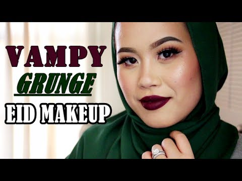 VAMPY GRUNGE MAKEUP FOR EID WITH JadeLux - YouTube