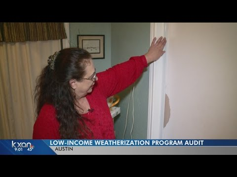 Low income weatherization audit
