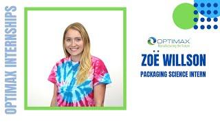Zoe- Packaging Science Intern