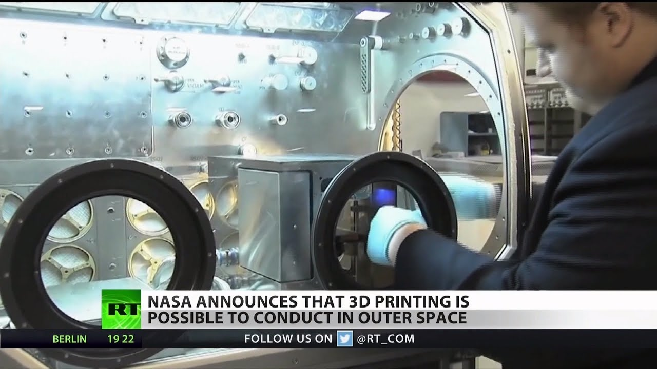 3D Printing Comes to Space