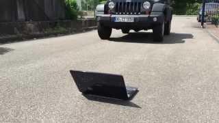 Jeep vs Notebook Gehäuse -  Gehäuse leider defekt - Reparatur bei IPC aber möglich