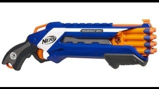 NERF Rough Cut 2x4 Unboxing and Review