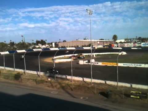 stockton 99 speedway focus hot laps with molly helmuth