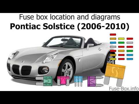 [DIAGRAM_1CA]  Fuse box location and diagrams: Pontiac Solstice (2006-2010) - YouTube | 2007 Corvette Fuse Box Location |  | YouTube
