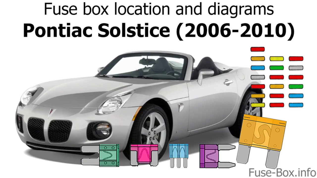 medium resolution of fuse box location and diagrams pontiac solstice 2006 2010 youtube fuse box location and