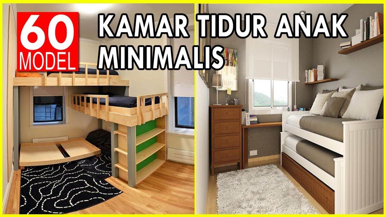 60 Desain Kamar Tidur Anak Minimalis Untuk Ruangan Sempit Youtube