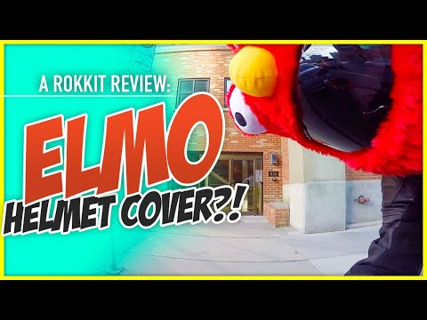 Elmo Helmet Cover For Your Motorcycle?!