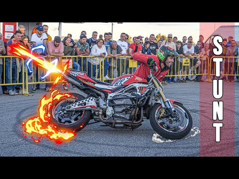 Motorcycle Stunts Show | Trial | Motocross | Street Bike