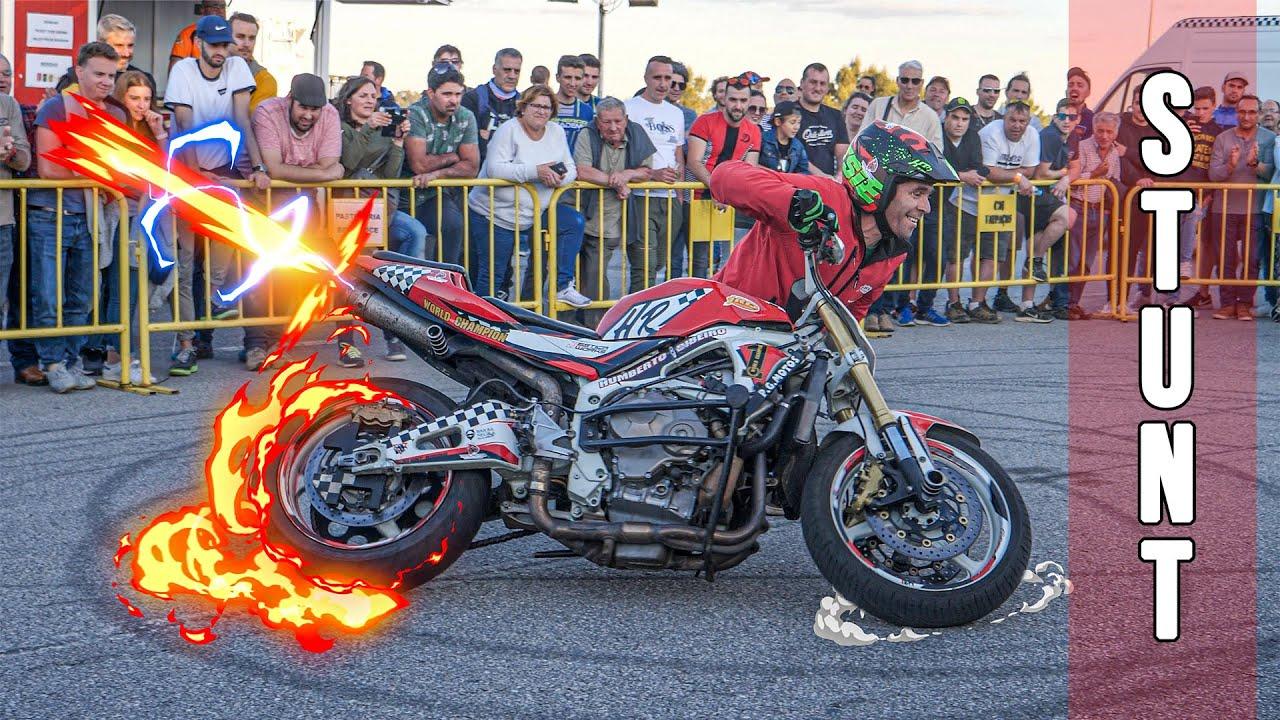 Motorcycle Stunts Show | Trial | Motocross | Street Bike