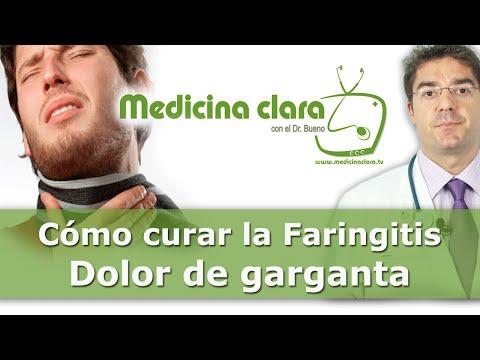 Curar el dolor garganta. Consejos médicos para la faringitis